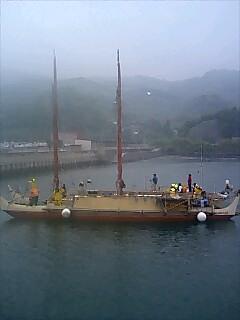 ホクレア号入港